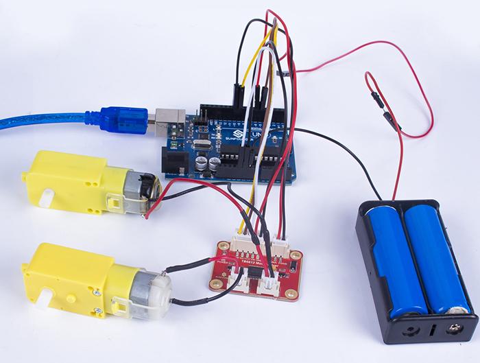 TB6612 DC Motor Driver Module - Wiki