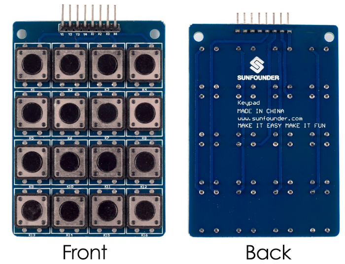 Keypad library download arduino