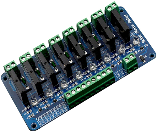8 Channel 5V Solid State Relay Module Wiki - Solid State Relay Low Current