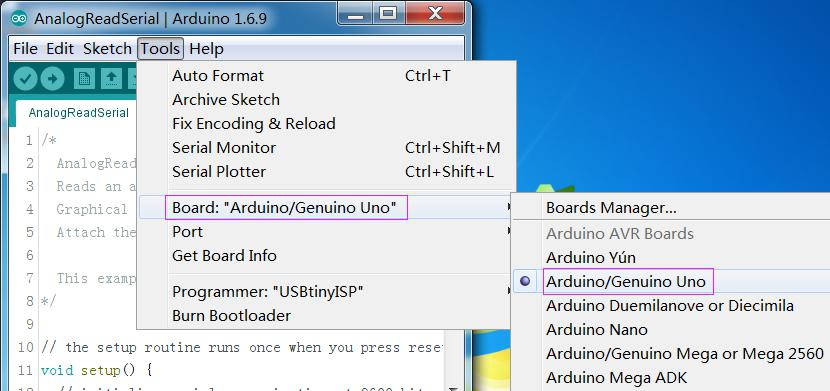 Arduino Bootloader Burned Method - Wiki