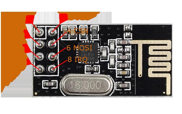 nrf24l01 test with arduino