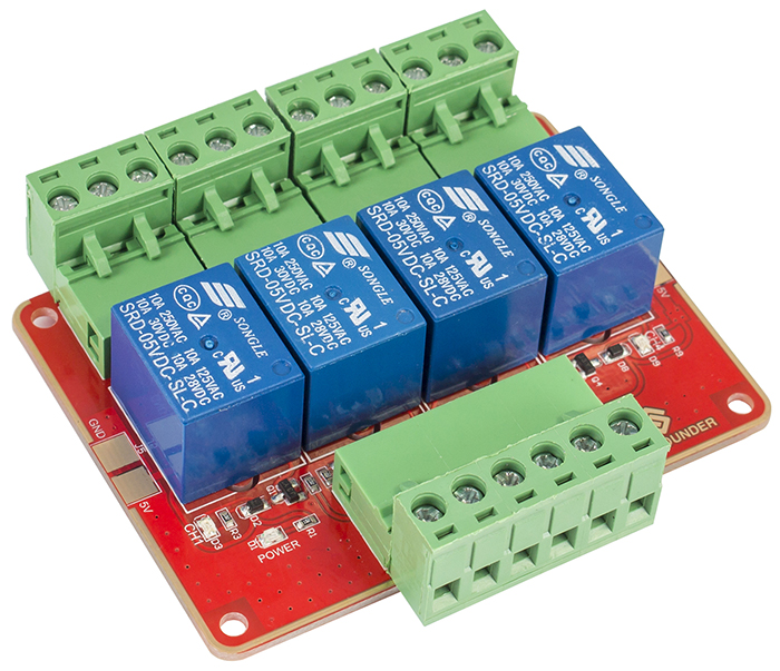 4Channel High Level Trigger Relay Wiki