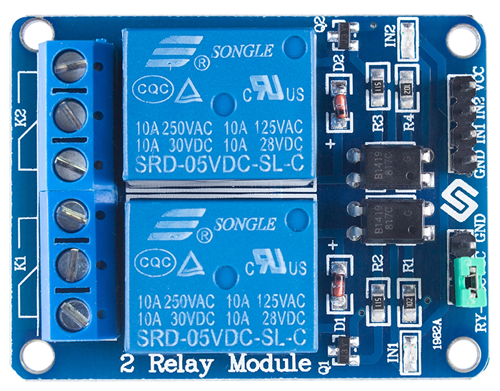 2 channel 5v relay module wikithis is a low level 5v 2 channel relay interface board, and each channel needs a 15 20ma driver current it can be used to control various appliances and