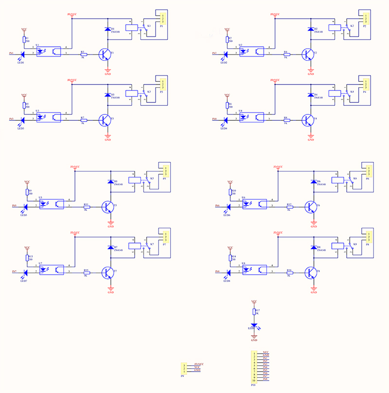 8 Channel 5V Relay Module - Wiki