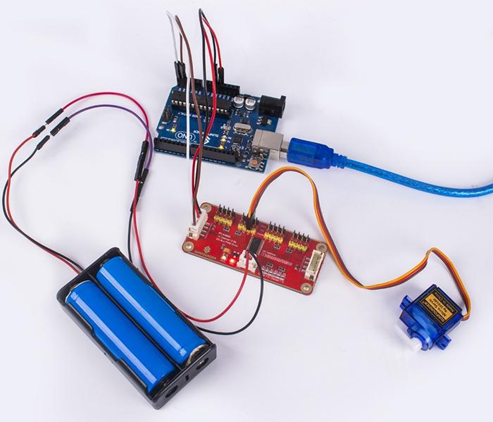 PCA9685 16-Channel 12 Bit I2C Bus PWM Driver - Wiki