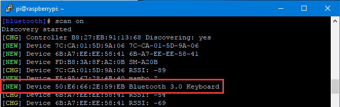 Connecting Raspberry Pi with the Bluetooth keyboard - Wiki