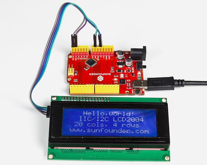 I2C LCD2004 - Wiki