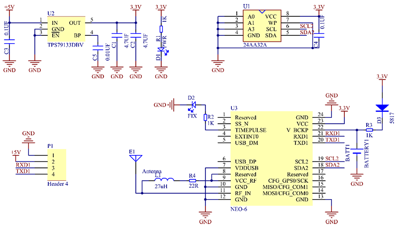 the schematic diagram of the module is shown as below: