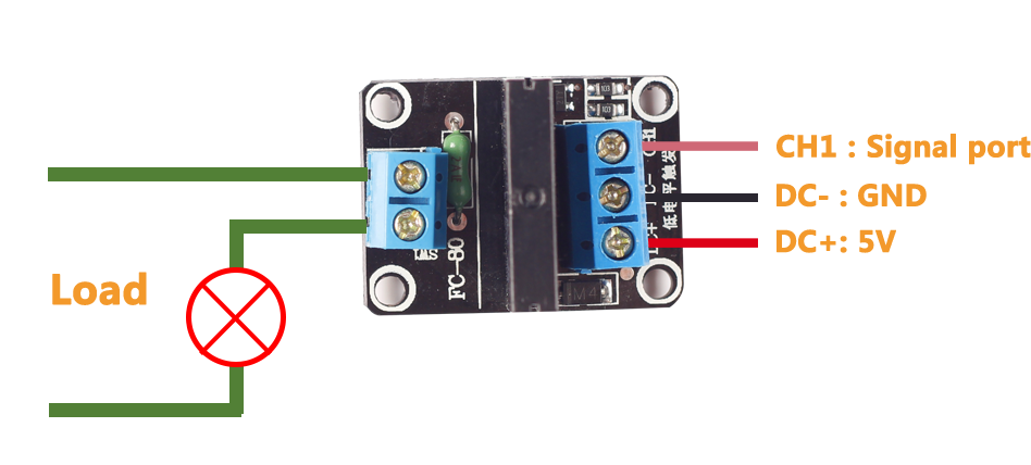 Connection tft esp8266