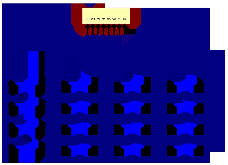 4x4 matrix keypad module wiki rh wiki sunfounder cc